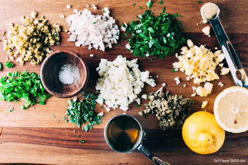 Sauce Gribiche Recipe | SaltPepperSkillet.com