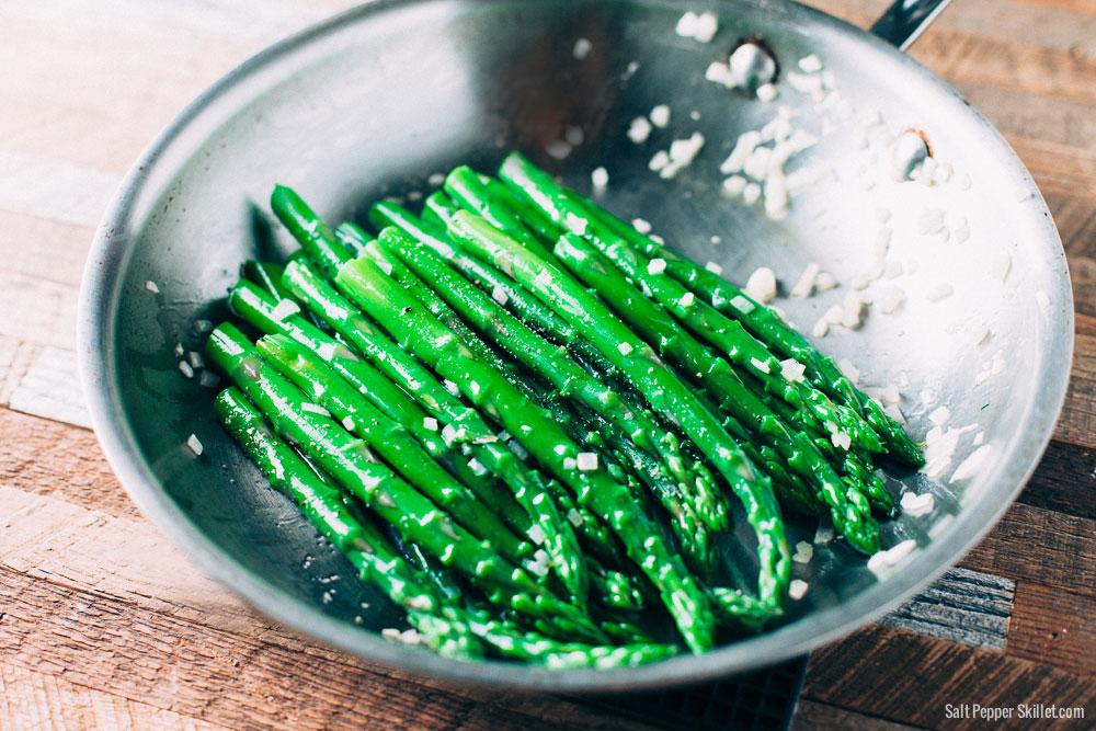 Sauteed Asparagus | SaltPepperSkillet.com