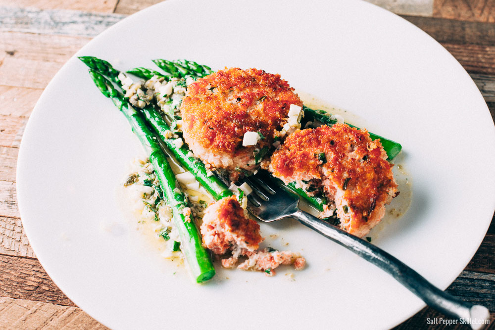 America S Test Kitchen Salmon Cakes
