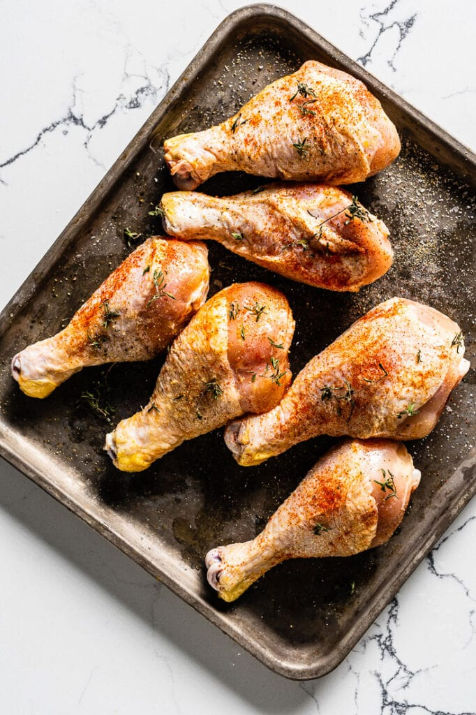 seasoned Perdue Farms Chicken drumsticks