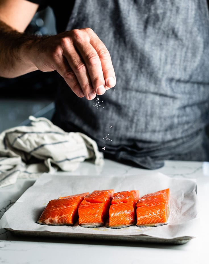 seasoning salmon for baking