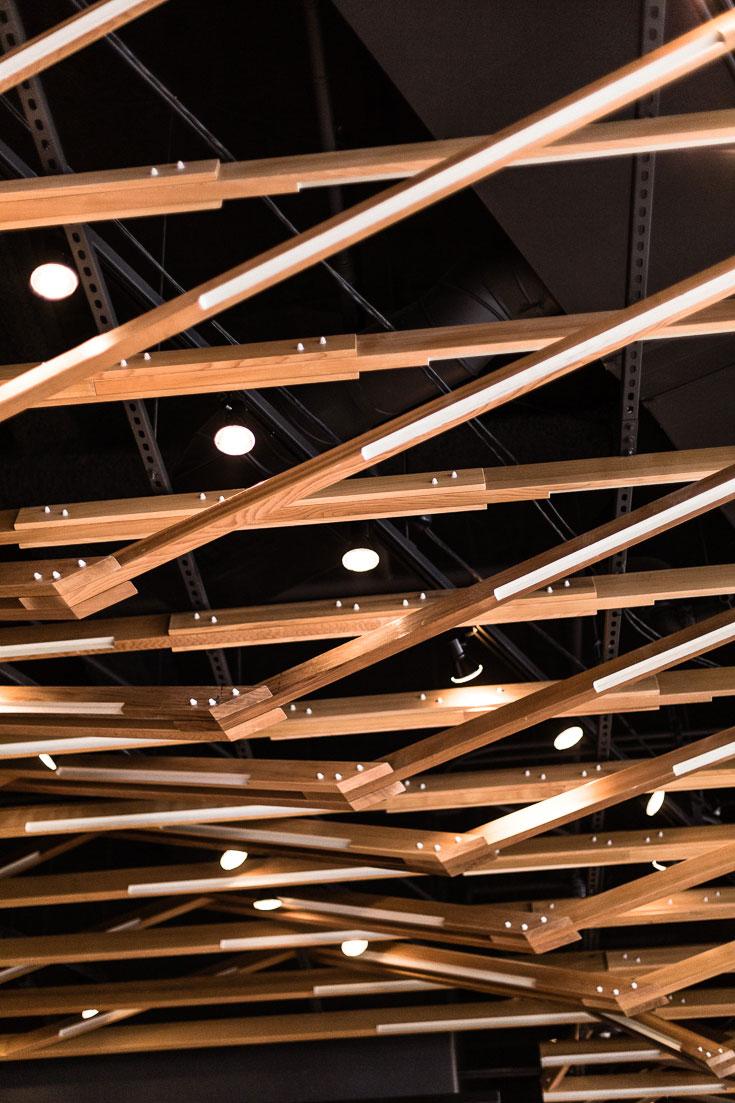 shake shack san diego ceiling design