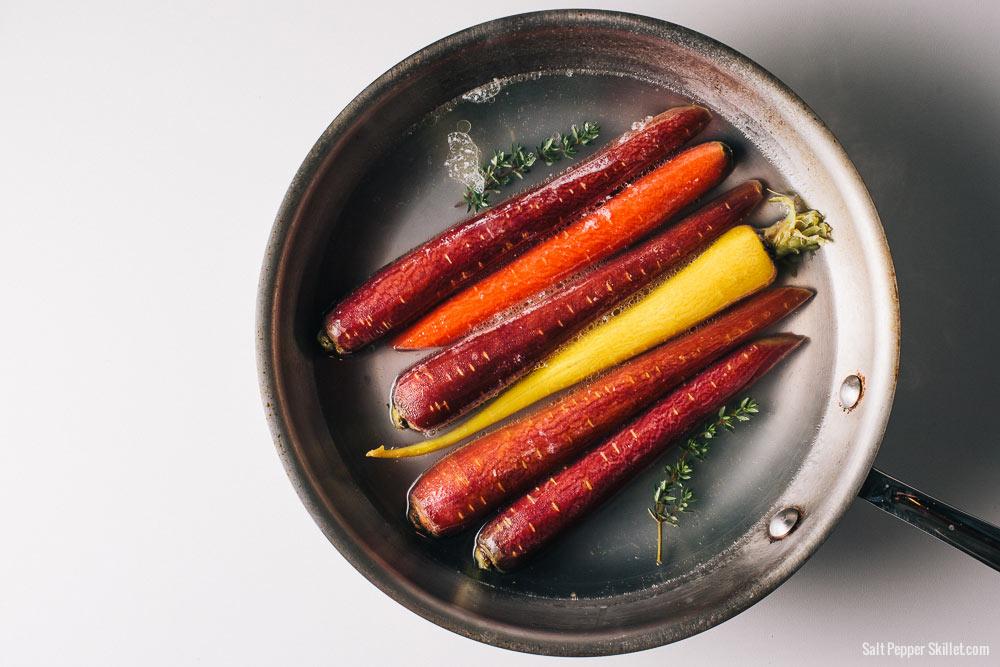 Slow-Cooked Carrots | SaltPepperSkillet.com