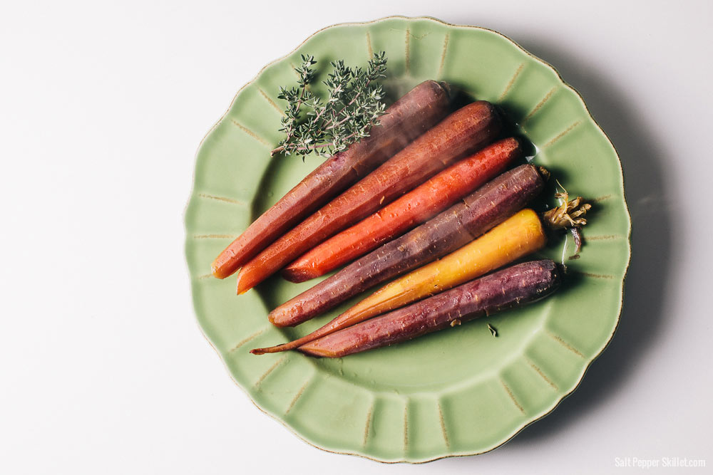 Slow-Cooked Carrots | SaltPepperSkillet.com