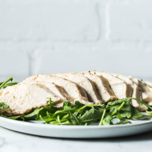 sous vide chicken breasts horizontal