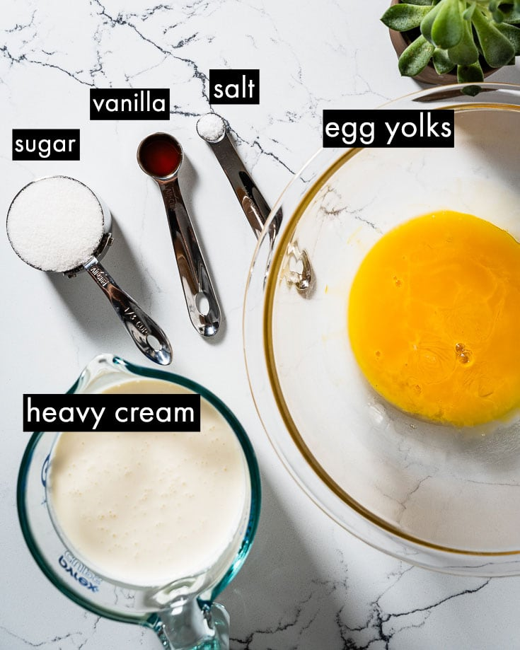 sous vide creme brulee ingredients