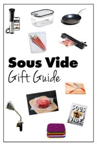 The Sous Vide Gift Guide