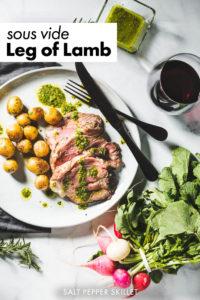 sous vide leg of lamb pin 1