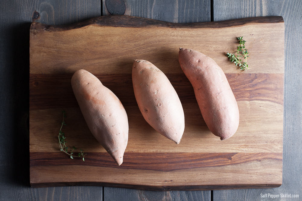 Sweet Potato Bites Recipe | SaltPepperSkillet.com