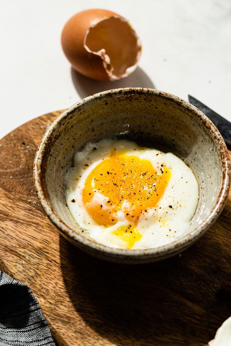 the perfect sous vide poached egg