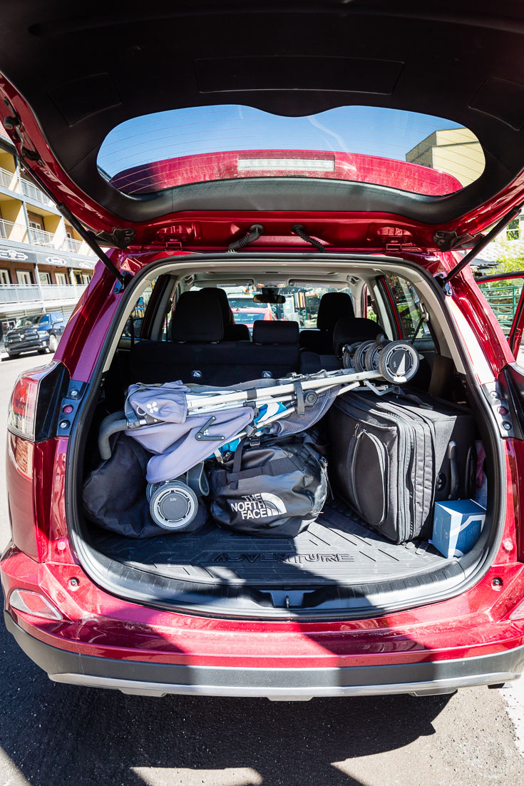 Toyota RAV4 Adventure Cargo Area