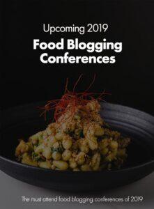 2019 Food Blogging Conferences